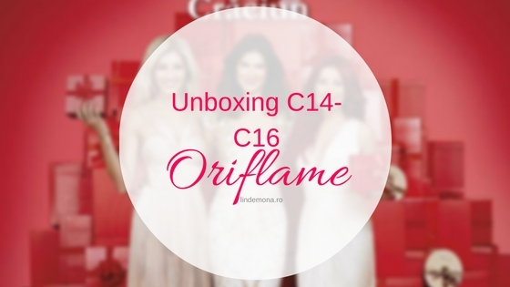 Unboxing oriflame 2016